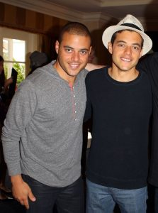 Rami and Sami Malek, Beverly Hills, CA